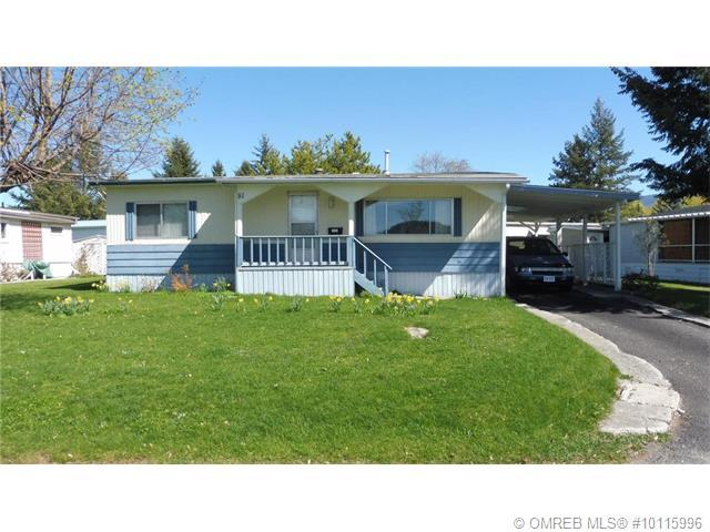 81 - 5484 25 Avenue  - Vernon Mobile Home for sale, 2 Bedrooms (10115996)