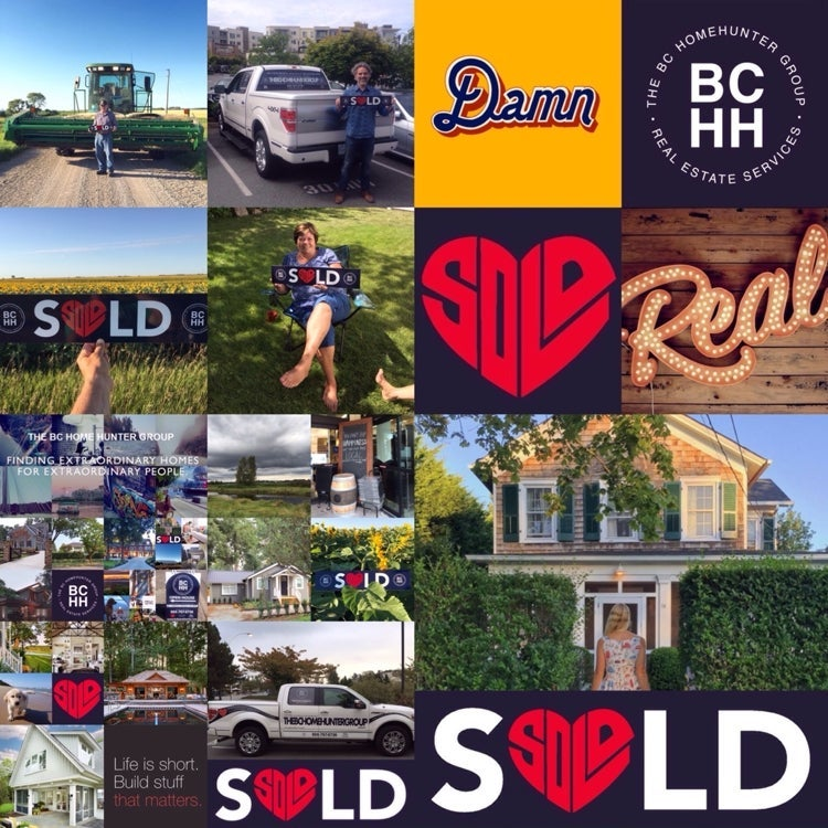 @BCHOMEHUNTER  THE BC HOME HUNTER GROUP METRO VANCOUVER I FRASER VALLEY I BC URBAN & SUBURBAN REAL ESTATE SALES  What's in your backyard? WE SELL REAL ESTATE - DIFFERENTLY!  We are BCHH and we specialize in YOU. Our BCHH real estate team S❤️LD is recognized everywhere as our trademark for not just selling your home differently but more importantly how we treat each and every buyer, seller and our communities!  Whether your a Metro Vancouver, Fraser Valley or BC Home Hunter our BCHH real estate experts know your way home. You've noticed we're different. We specialize in you.  We all reach that time in our lives: the moment when we're ready to settle down, plant deep roots and plan for the future.  Like us on Facebook and follow us on Twitter, Instagram, YouTube, Pinterest, Tumblr and Google+ today.  #Calgary #Edmonton #Toronto #Vancouver #WhiteRock #SouthSurrey #WestVancouver #Langley #MapleRidge #NorthVancouver #Langley #FraserValley #Burnaby #FortLangley #PittMeadows #Delta #Richmond #CoalHarbour #Surrey #Abbotsford #FraserValley #Kerrisdale #Cloverdale #Coquitlam #EastVan #Richmond #PortMoody #Yaletown #CrescentBeach #Clayton #MorganCreek #FraserValleyHomeHunter #VancouverHomeHunter  Considering buying or selling any Metro Vancouver, Fraser Valley or BC real estate? Call our passionate real estate experts at THE BC HOME HUNTER GROUP today, 604-767-6736.  @BCHOMEHUNTER: THE BC HOME HUNTER GROUP Be where you are; or you'll miss your life.