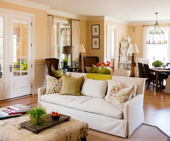 Go Group Larger Pieces Together To Make An Even More Bold Punch In A Room Rather Than Several Smaller Pieces Spread Throughout The Room