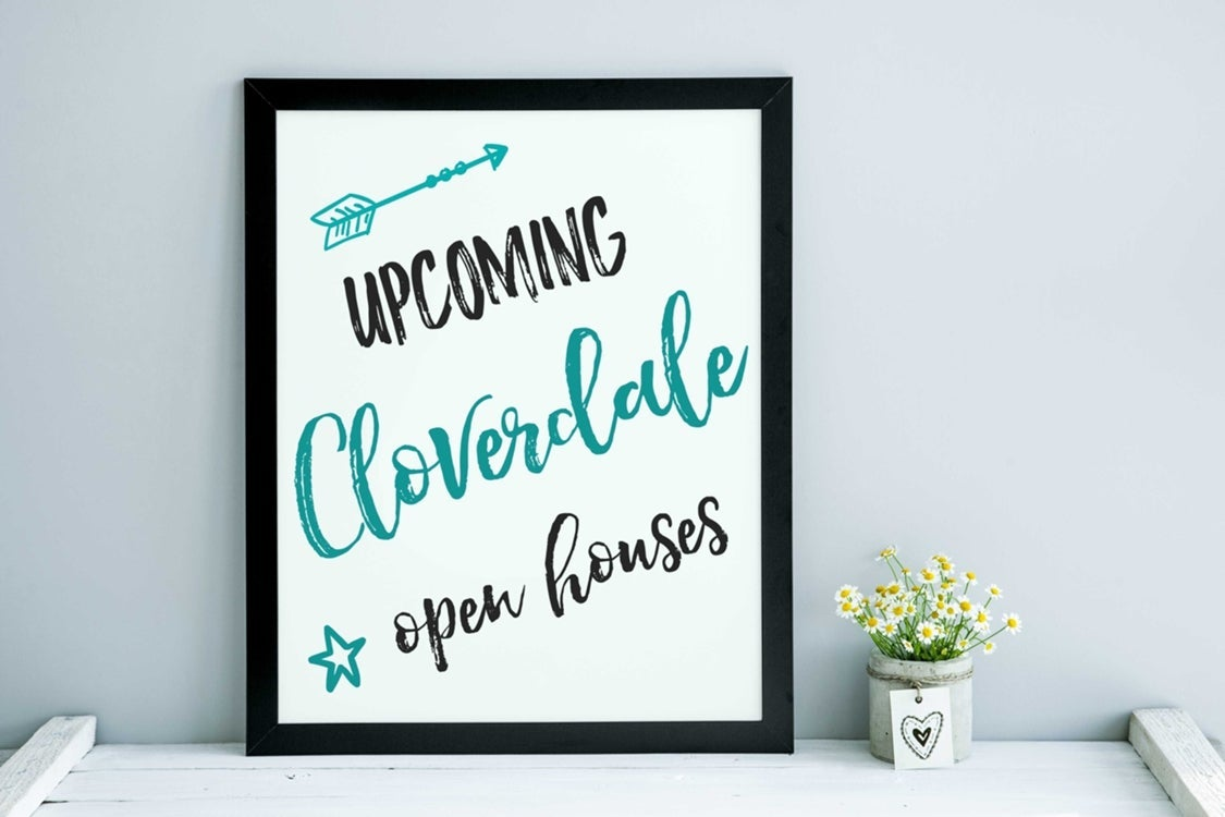 Image of Upcoming Cloverdale Open Houses