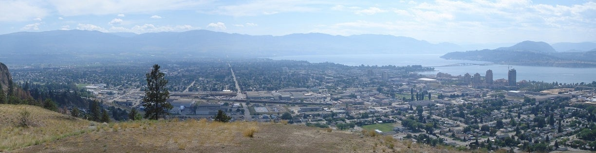Kelowna from Knox Mountain | Get Here with Grant Waidman