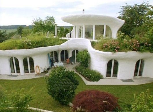 Earth House In Switzerland