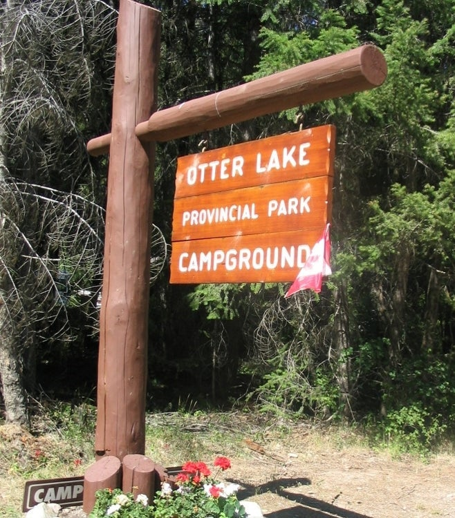 Otter Lake Provincial Park Campground