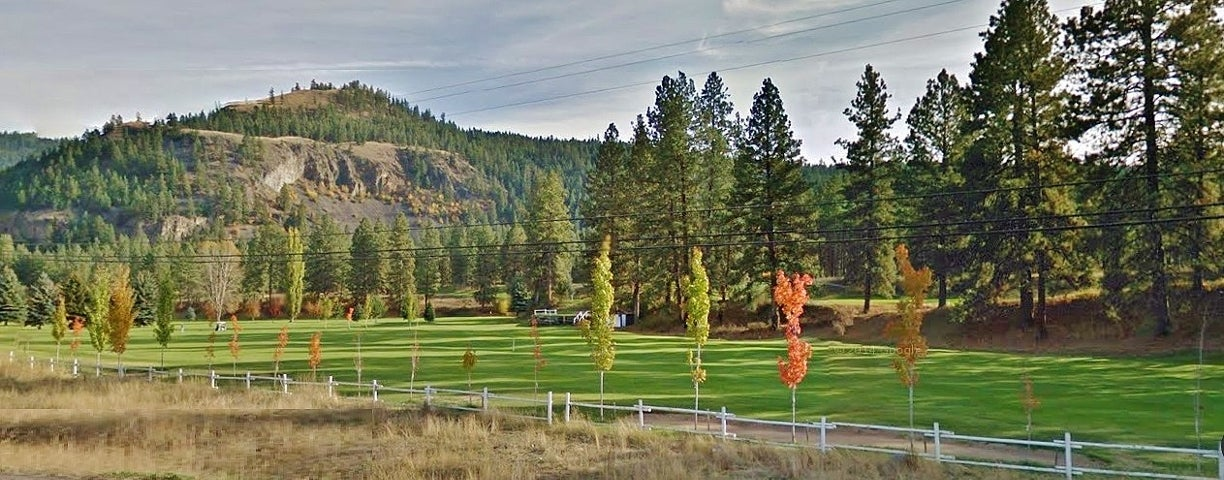 Golf course in Princeton BC