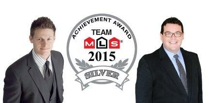 award, silver, top realtors, winnipeg, transcona, real estate, winners, community, goodfellow, gibson, josh, tom, mls, 2015