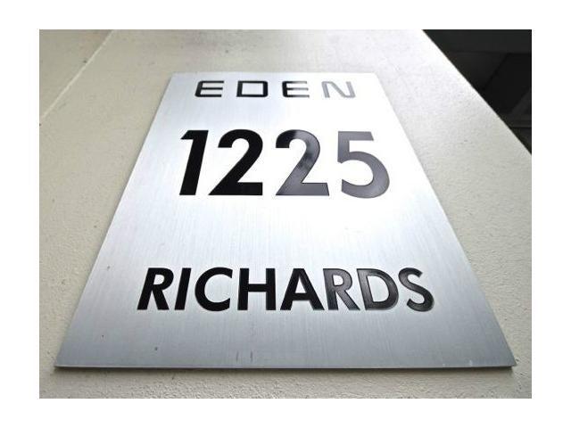 The Eden   --   1225 RICHARDS ST - Vancouver West/Downtown VW #1