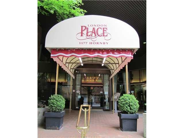 LONDON PLACE   --   1177 HORNBY ST - Vancouver West/Downtown VW #1