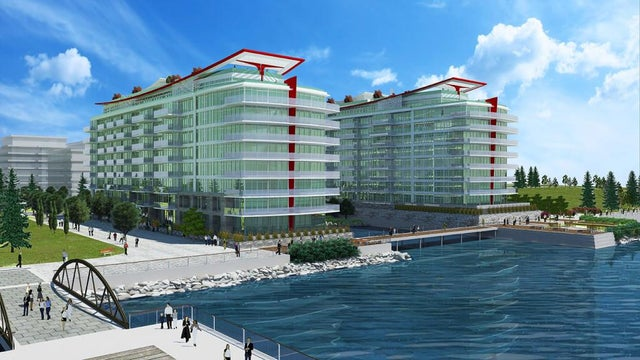 Cascade at the Pier East   --   185 VICTORY SHIP WY - North Vancouver/Lower Lonsdale #1