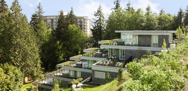 Terrassed Evelyn Condos West Vancouver - Condo Expert Bernie Bloomberg   --   710 KEITH RD - West Vancouver/Ambleside #1