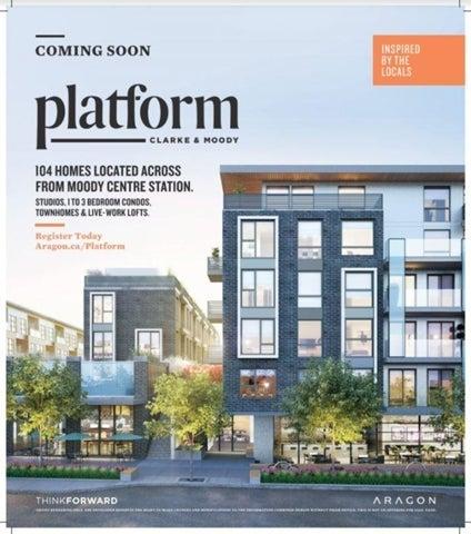 Platform   --   2725 Clarke St - Port Moody/Port Moody Centre #1