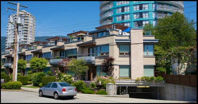 Argyle Townhouses   --   2181 - 2191 ARGYLE AV - West Vancouver/Dundarave #1