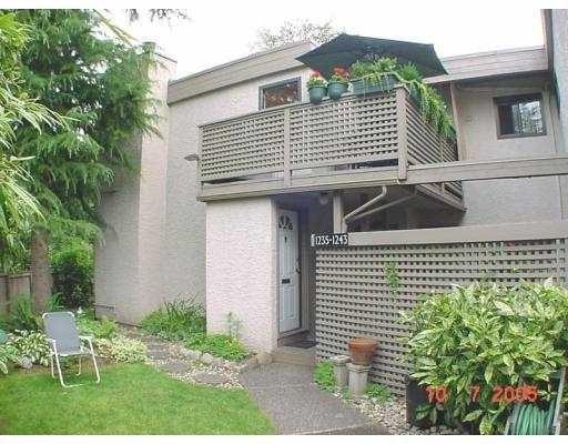 Plateau Village   --   1243 PLATEAU DR - North Vancouver/Pemberton Heights #1