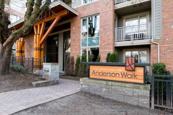 Anderson Walk, 119 - 152 W 22nd St, North Vancouver - Presented by Oscar Barrer