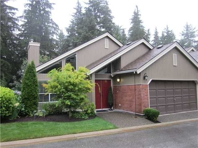 2 level townhomes with master bedroom on main level. Vaulted ceilings on main.