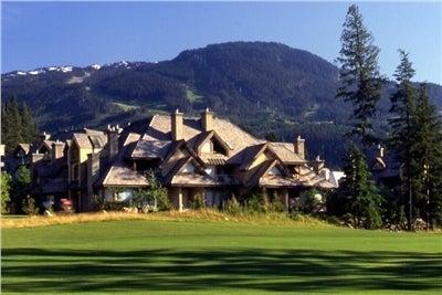 Whistler Blackcomb on The Golf Course: Gleneagles