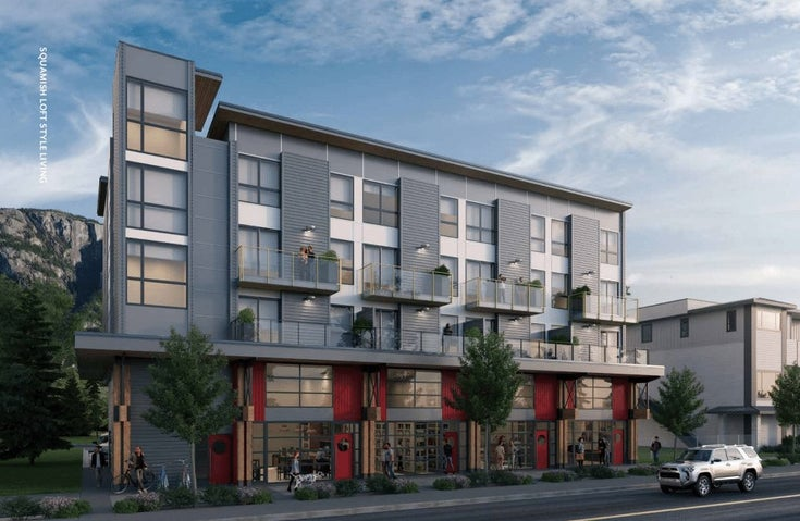 The Lofts   --   38261 Cleveland Ave, Squamish, BC - Squamish/Downtown SQ #1