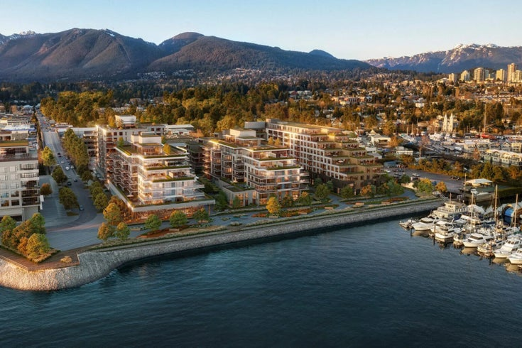 Aire at North Harbour   --   18 Fell Ave - North Vancouver/Harbourside #1