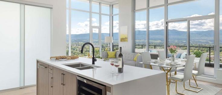 Ella Kelowna Penthouse View Open Concept