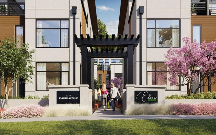 ELINA ON EIGHTH   --   1211 8th Avenue, New Westminster, BC - New Westminster/Downtown NW #1