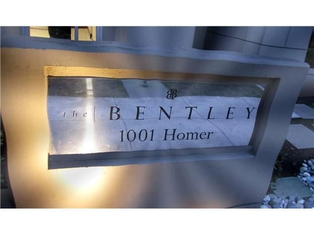 The Bentley   --   1001 HOMER ST - Vancouver West/Downtown VW #4