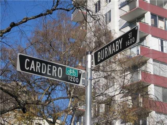 Cardero Court   --   1238 CARDERO ST - Vancouver West/West End VW #3