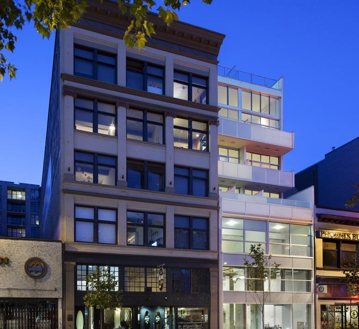 The Paris Block   --   53 West Hastings, Vancouver - Vancouver East/Hastings #1