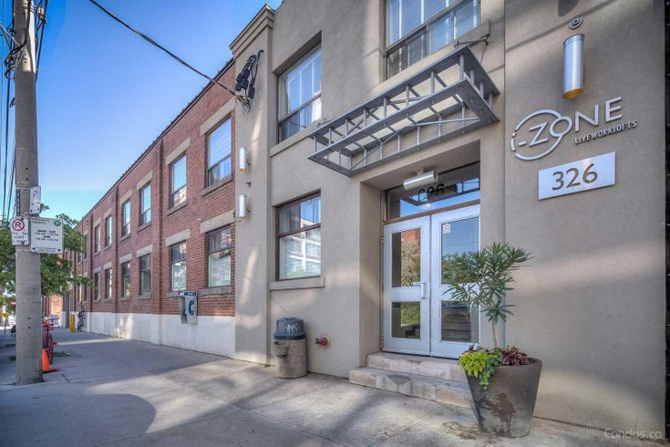 I-Zone Live Worklofts   --   326 Carlaw Ave - Toronto E01/South Riverdale #1