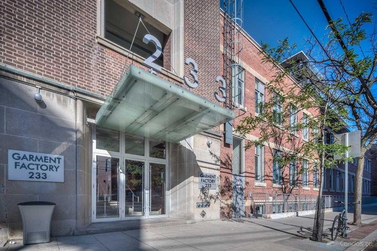 Garment Factory Lofts   --   233 Carlaw Ave - Toronto E01/South Riverdale #1