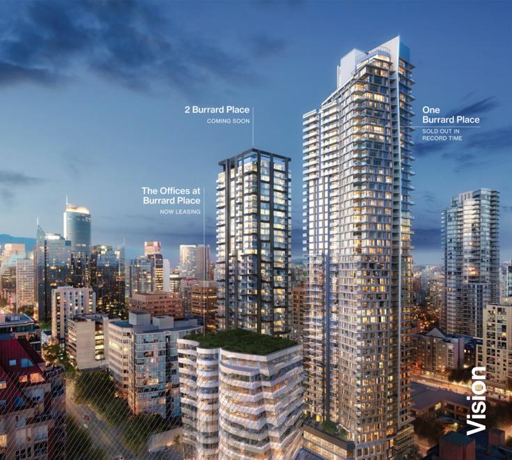 2 Burrard Place   --   1277 HORNBY  - Vancouver West/Downtown VW #1