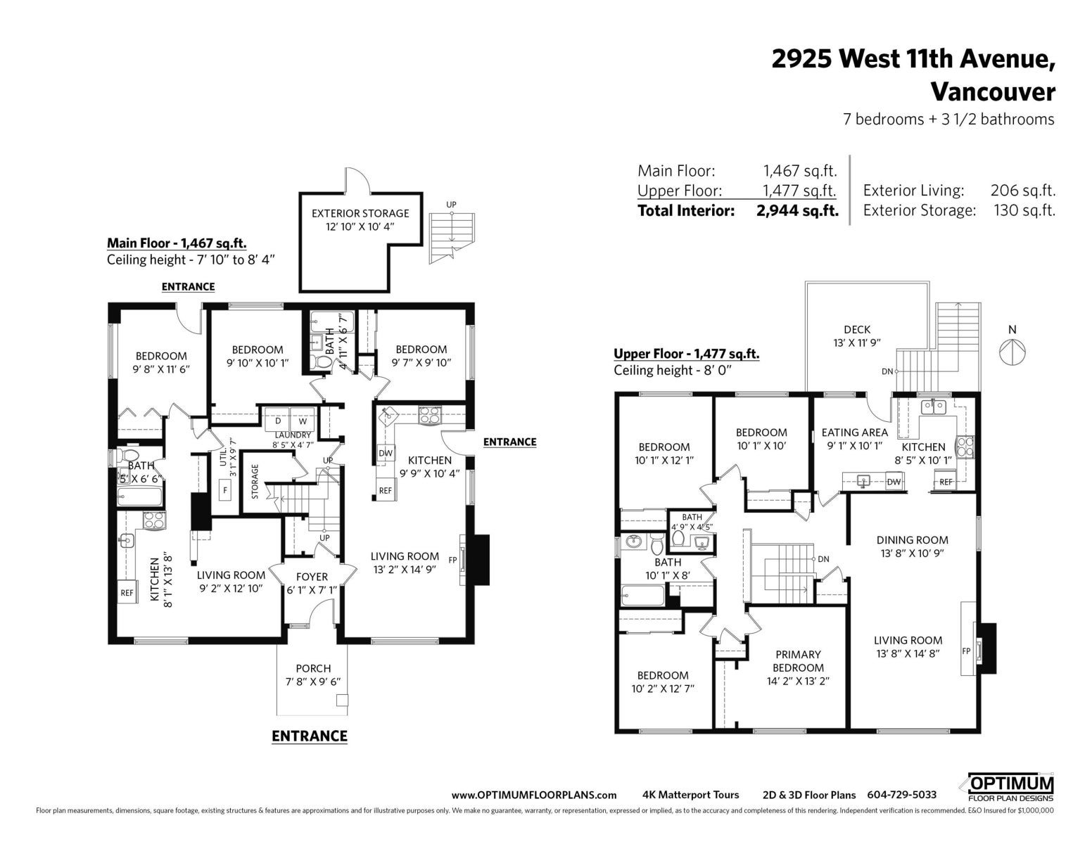 2925 W 11TH AVENUE - Kitsilano House/Single Family for sale, 7 Bedrooms (R2623875) #20