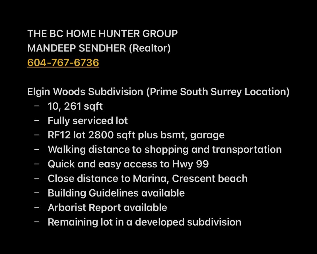 Call Mandeep Sendher for all listing details, 604-767-6736.