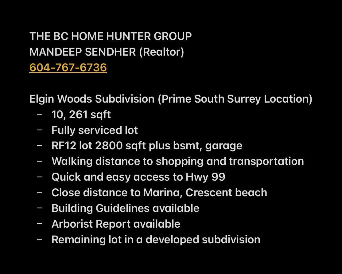 Call Mandeep Sendher for listing details, 604-767-6736.
