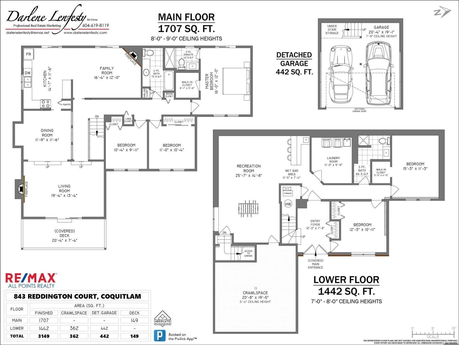 843 REDDINGTON COURT - Ranch Park House/Single Family for sale, 5 Bedrooms (R2602360) #30