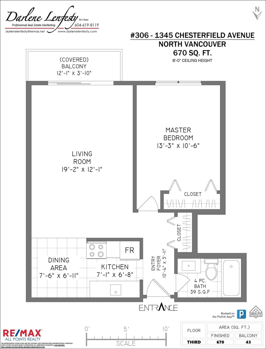 306 1345 CHESTERFIELD AVENUE - Central Lonsdale Apartment/Condo for sale, 1 Bedroom (R2622121) #21