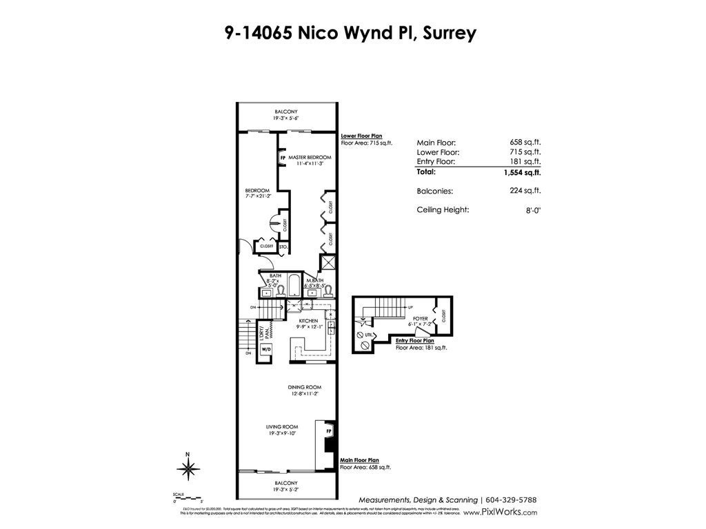 9 14065 NICO WYND PLACE - Elgin Chantrell Apartment/Condo for sale, 2 Bedrooms (R2433148) #20