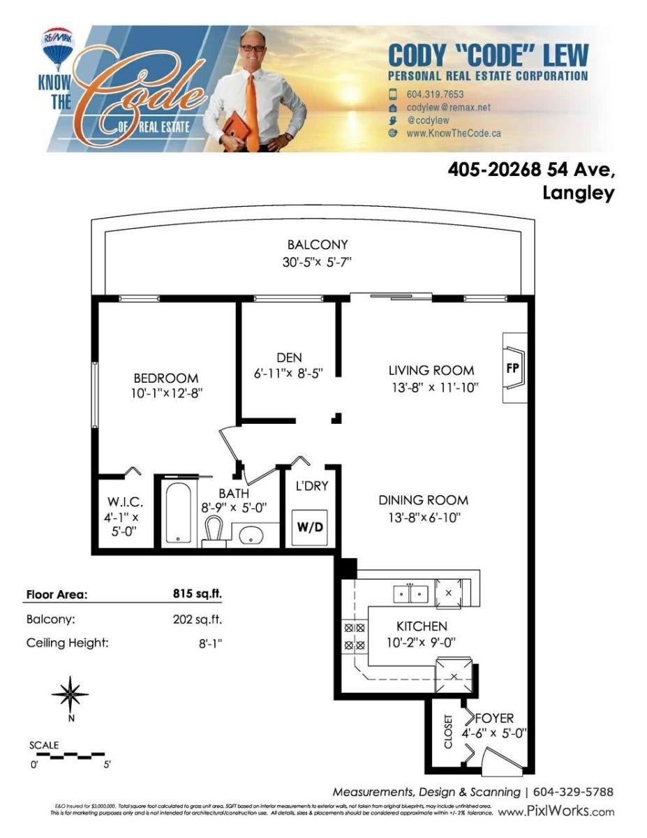 405 20268 54 AVENUE - Langley City Apartment/Condo for sale, 2 Bedrooms (R2604183) #21