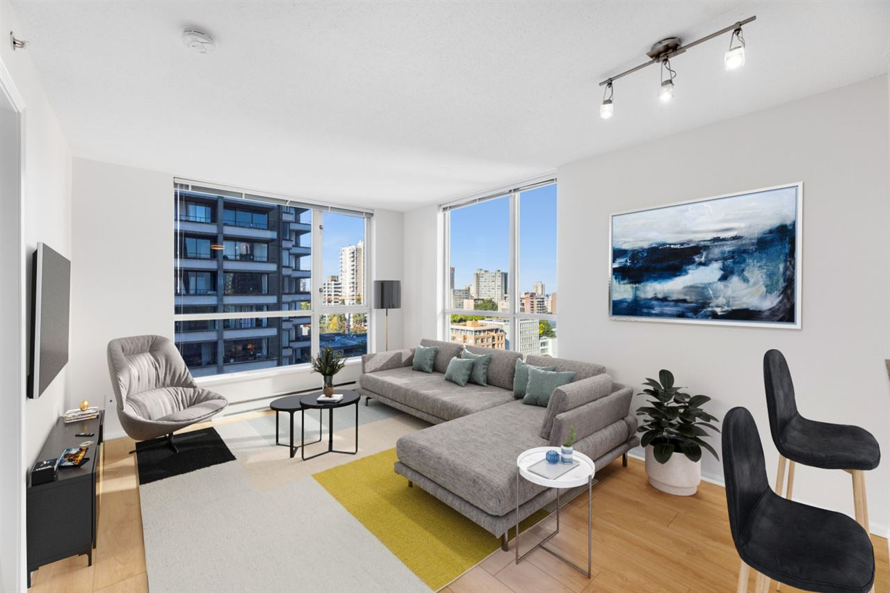 1306-1420 W Georgia St Vancouver BC V6G 3K4 - West End VW Apartment/Condo for sale, 1 Bedroom (r2528538) #2