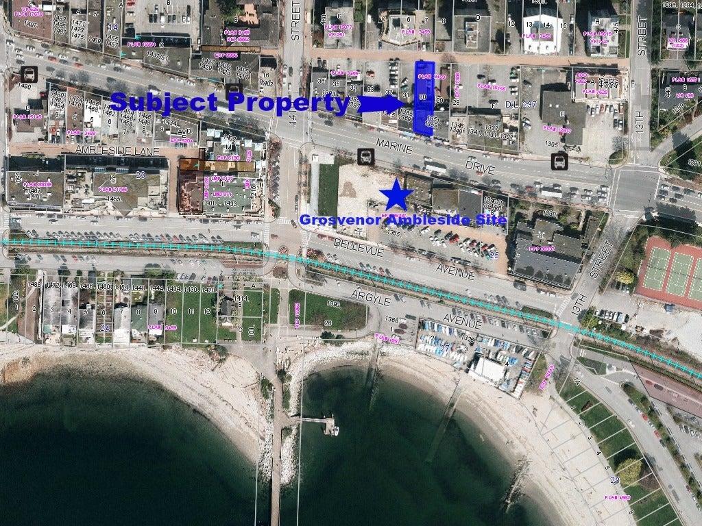 1351-1359 Marine Drive West Vancouver V7T 1B6 - Ambleside COMM for sale(C8006815) #2