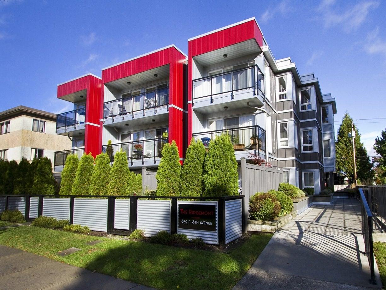 #205 - 659 East 8th Avenue, East Vancouver, Mount Pleasant - Mount Pleasant VE Apartment/Condo for sale, 1 Bedroom (R2006669) #1