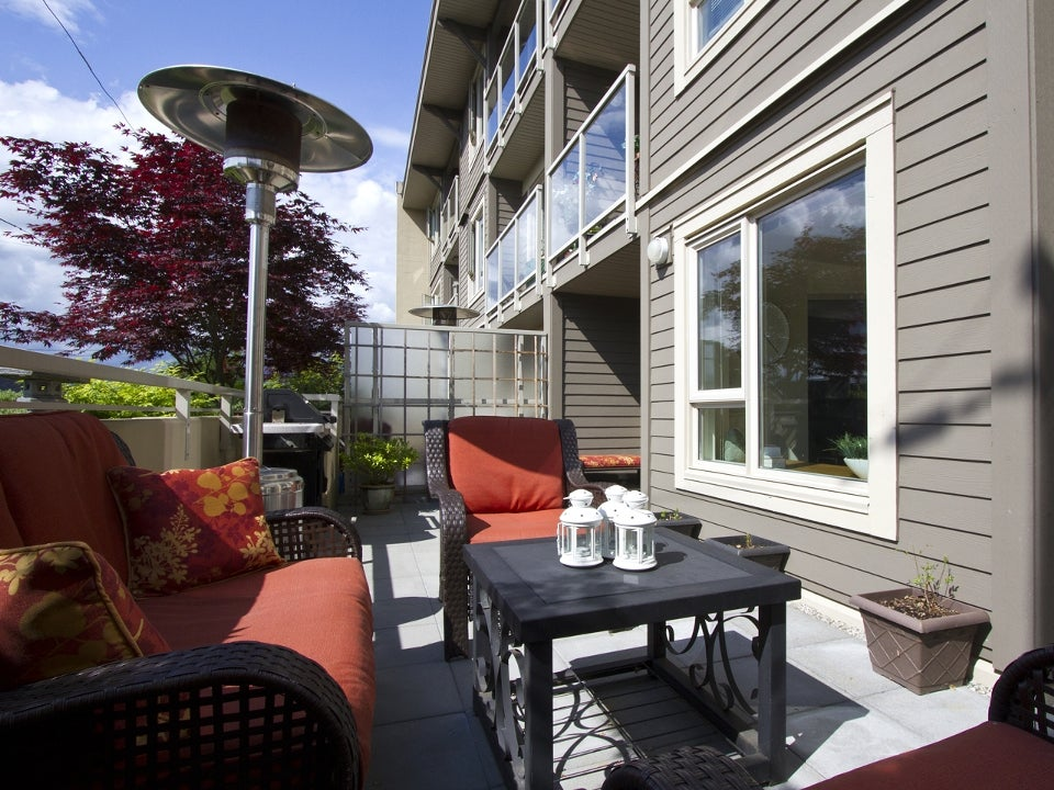 203 - 1689 East 13th Avenue, Vancouver, BC - Grandview Woodland Apartment/Condo for sale, 1 Bedroom  #3