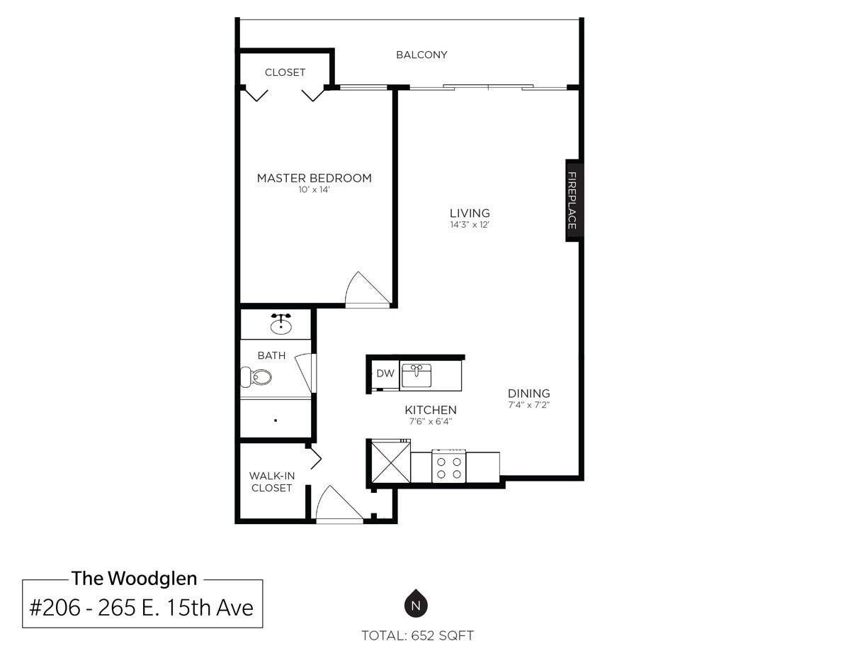 206-259 East 15th Avenue, Vancouver - Mount Pleasant VE Apartment/Condo for sale, 1 Bedroom (R2008505) #24