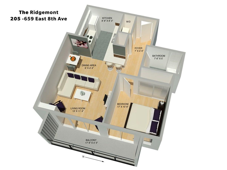 #205 - 659 East 8th Avenue, East Vancouver, Mount Pleasant - Mount Pleasant VE Apartment/Condo for sale, 1 Bedroom (R2006669) #21