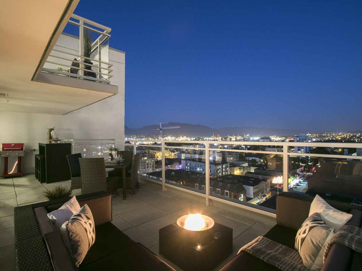 PENTHOUSE 8 - 188 Keefer Street - Mount Pleasant VE Apartment/Condo for sale, 2 Bedrooms  #7