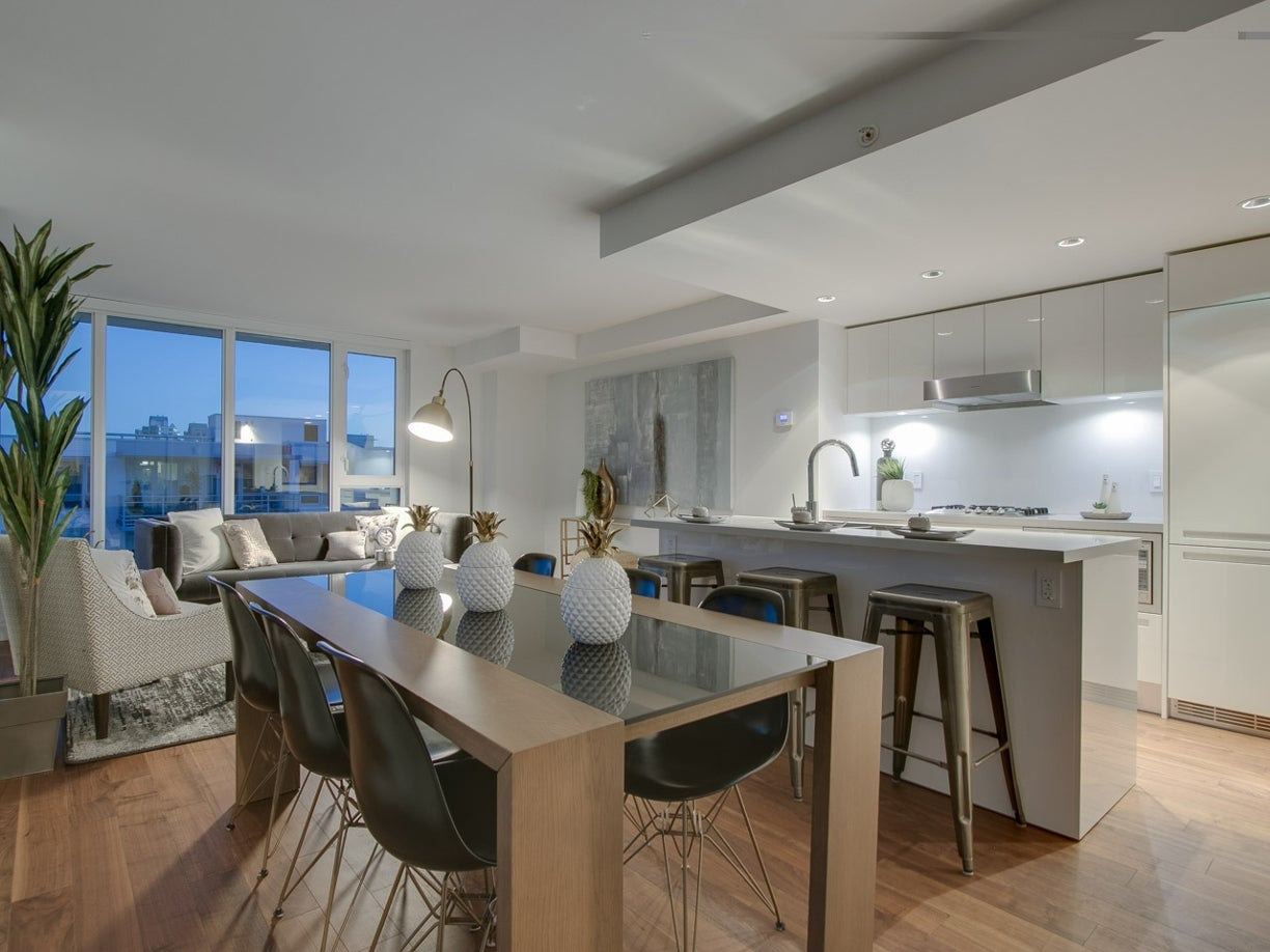 PENTHOUSE 8 - 188 Keefer Street - Mount Pleasant VE Apartment/Condo for sale, 2 Bedrooms  #12