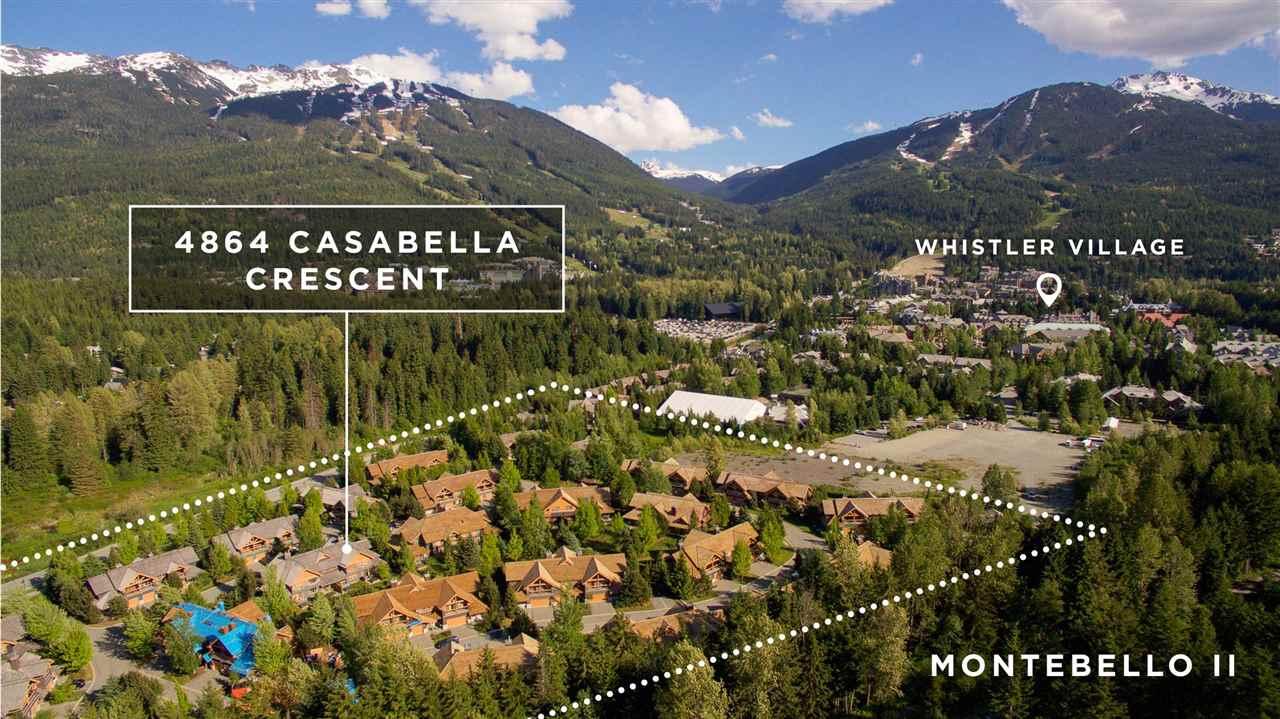4864 CASABELLA CRESCENT - Whistler Village Townhouse for sale, 3 Bedrooms (R2592689) #2