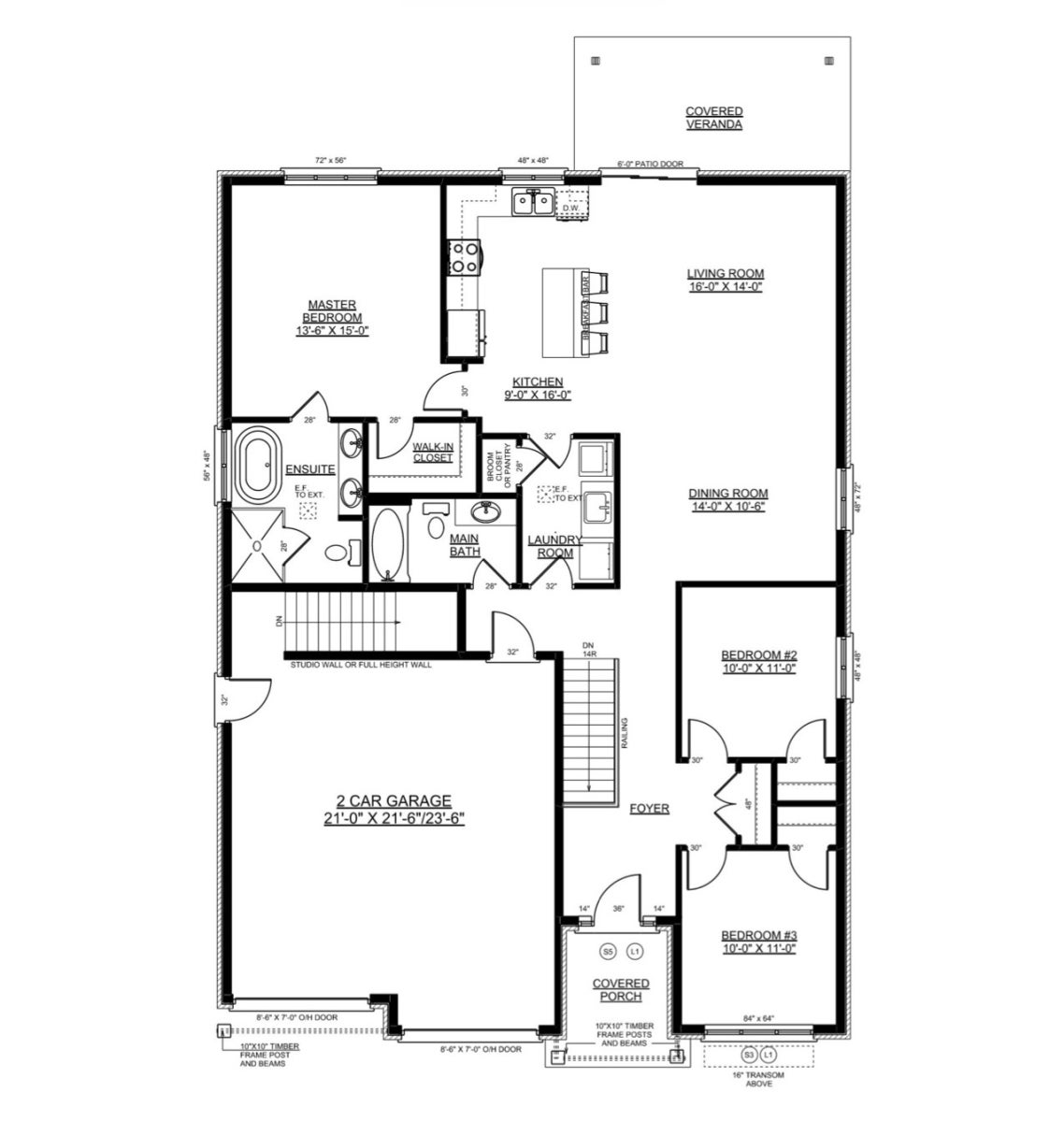 The Pinewood - Nithburg Single Family for sale, 3 Bedrooms