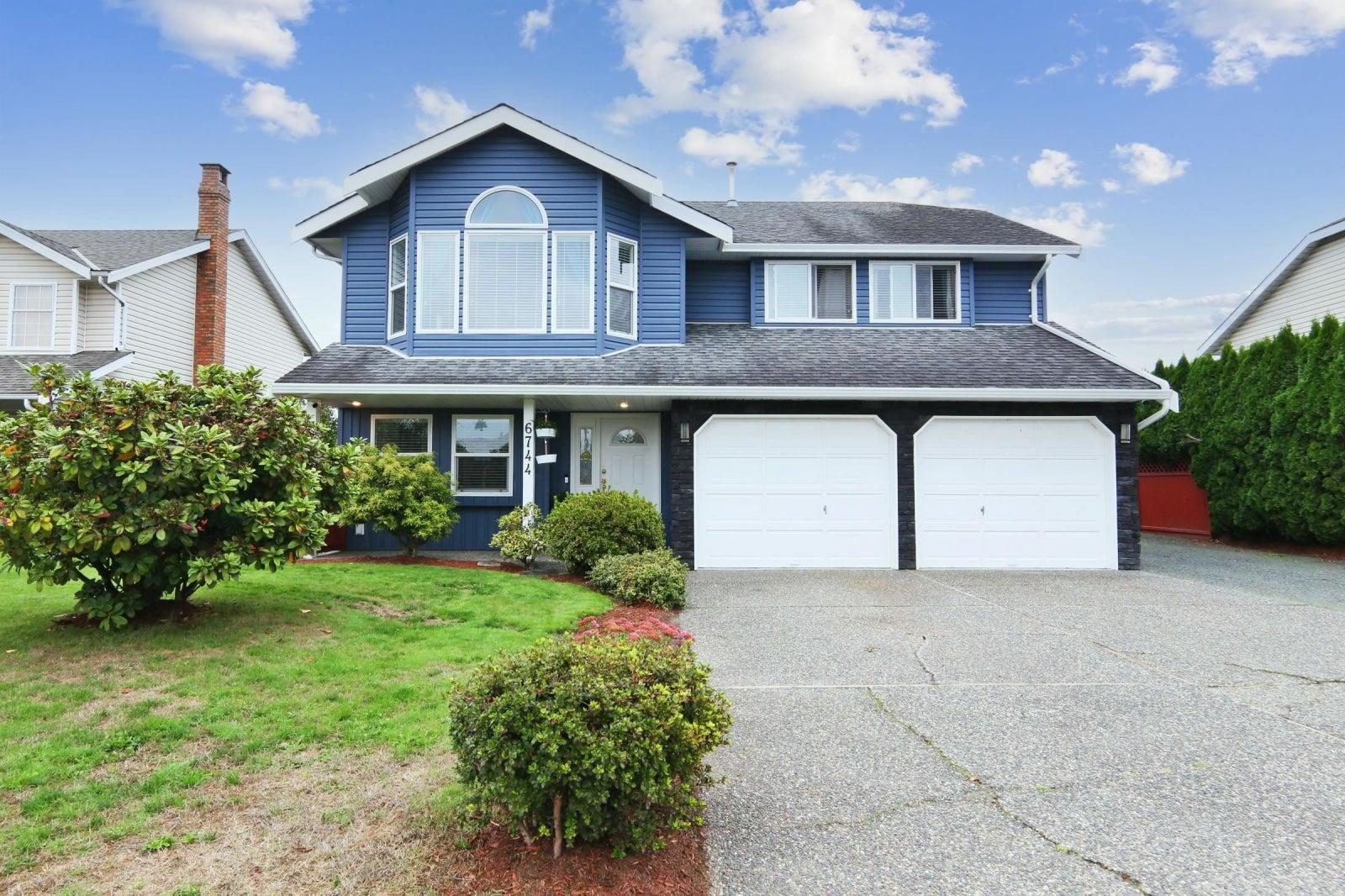 6744 VANMAR STREET - Sardis East Vedder Rd House/Single Family for sale, 4 Bedrooms (R2627057)