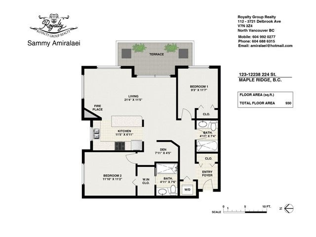 # 123 12238 224TH ST - East Central Apartment/Condo for sale, 2 Bedrooms (V1128029) #10