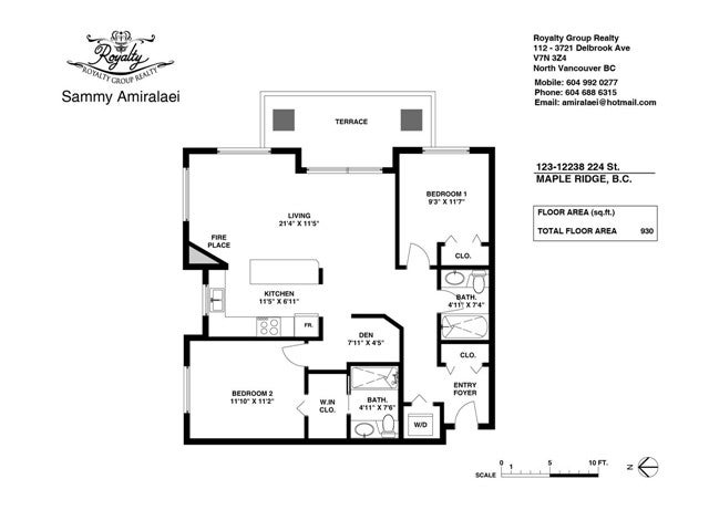 # 123 12238 224TH ST - East Central Apartment/Condo for sale, 2 Bedrooms (V1128029) #11