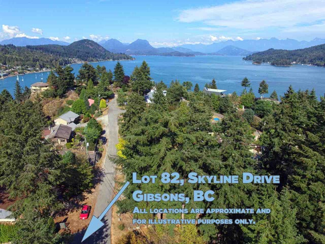 LOT 82 SKYLINE DRIVE - Gibsons & Area  for sale(R2168678)